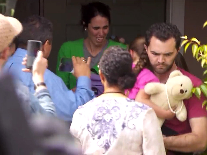 Save Lexi Protestors Gather After 6-Year-Old Is Removed From Foster Home