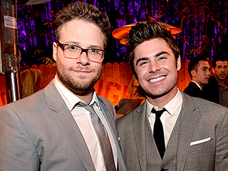 FROM EW: Zac Efron and Seth Rogen Play a NSFW Game of Mario Kart