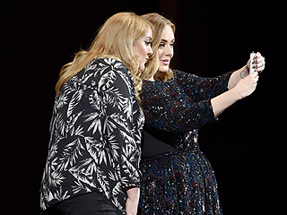 Adele Spots Lookalike Fan at Concert – and Invites Her on Stage to Snap an Epic Selfie!