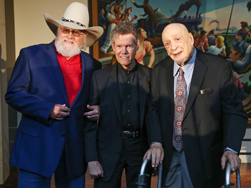 Randy Travis' Silence Speaks Volumes as He Accepts Hall of Fame Honor| Country, Country Music Hall of Fame, Music News, Charlie Daniels, Kris Kristofferson, Randy Travis