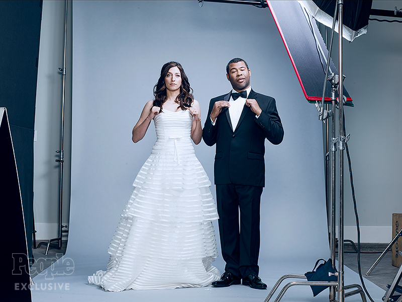 Surprise! Chelsea Peretti and Jordan Peele Eloped| People Picks, TV News, Jordan Peele