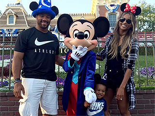 Ciara Hits Up Disneyland with the 'Loves' of Her Life – Russell Wilson and Young Son Future