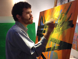 California Artist with Autism Uses His Synesthesia to Paint Vivid Portraits: 'I See Beautiful Colors in My Dreams'