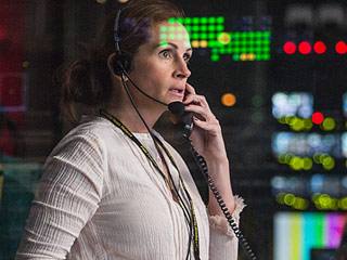 Primetime Thriller: See Julia Roberts and George Clooney as Hostages on Live Television in Exclusive Money Monster Poster