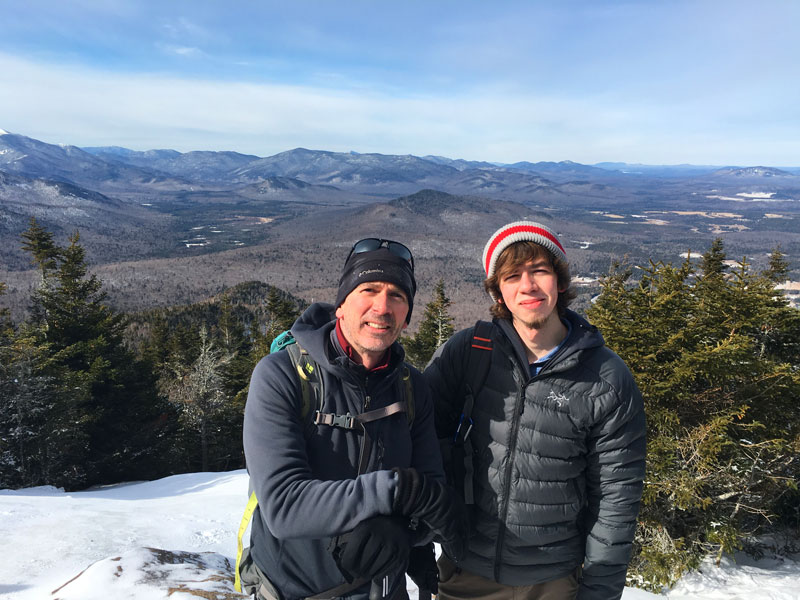 New Jersey Man with Terminal Lung Cancer Continues to Climb Mountains with His Son: Diagnosis 'Does Not Mean Your Life Is Over'| Cancer, Medical Conditions, People Scoop, Real People Stories, The Daily Smile