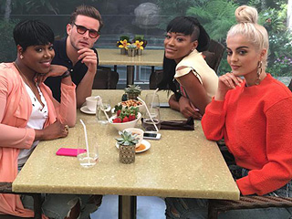 Scream Queens' Keke Palmer, Empire's Ta'Rhonda Jones, Younger's Nico Tortorella and Singer Bebe Rexha Are Very Excited for the MTV Movie Awards