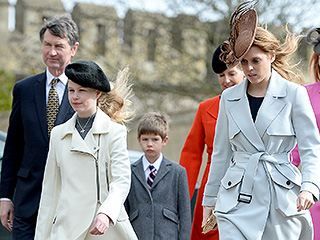 Queen Elizabeth and the Royal Family Are Perfectly Polished at Easter Services in Windsor