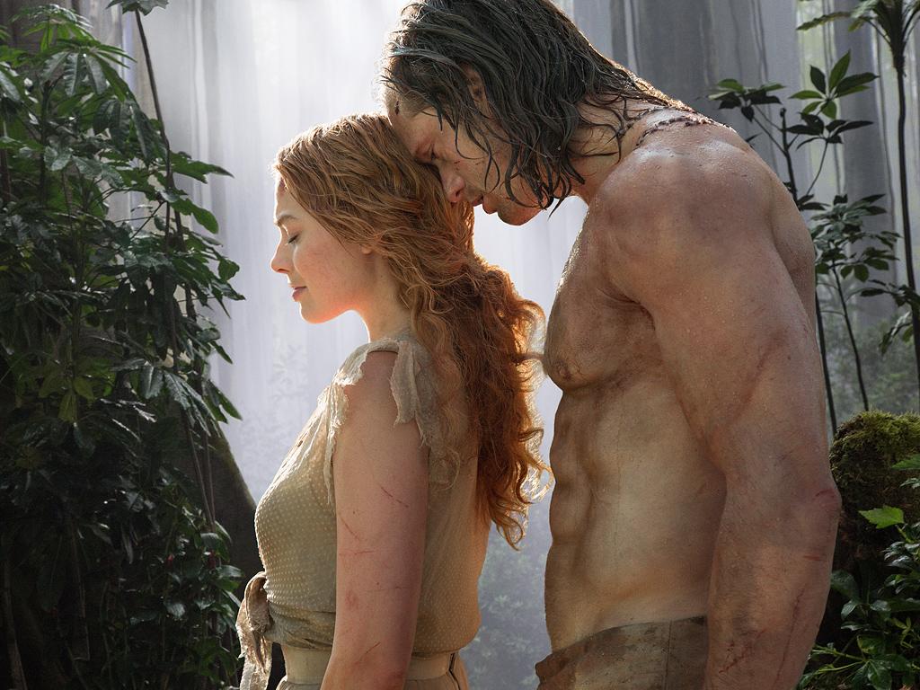 WATCH: Naked Costars! Carb Craziness! 10 Wildest Revelations from Alexander Skarsgard and Margot Robbie's Live Tarzan Q&A