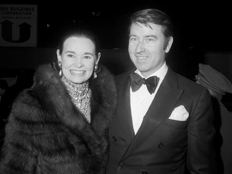 Gloria Vanderbilt And Wyatt Cooper
