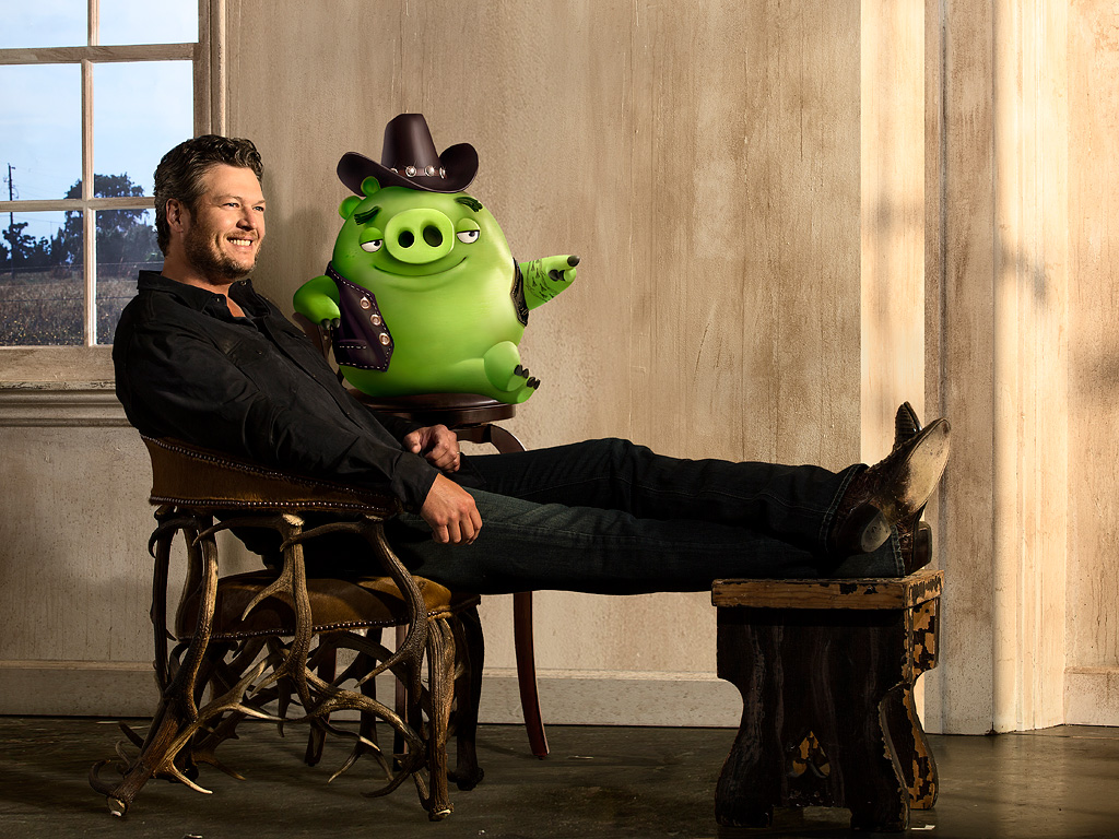 Blake Shelton Gets Playful in New Music Video for His Angry Birds Movie Song 'Friends'| Country, Music News, Blake Shelton