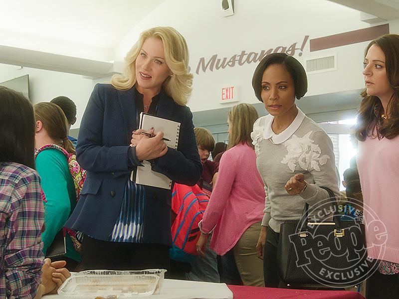 First Look: See Mila Kunis, Kristen Bell and Kathryn Hahn Go Hilariously Wild in Bad Moms| Movie News, Christina Applegate, Jada Pinkett Smith, Kathryn Hahn, Kristen Bell, Mila Kunis