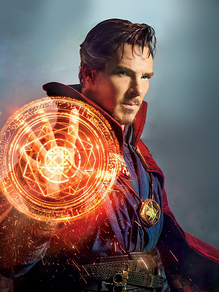 FROM EW: Benedict Cumberbatch Casts a Spell in First Doctor Strange Trailer