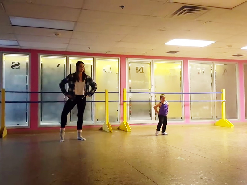 6-Year-Old Girl with Down Syndrome Who Was Rejected From a Local Dance Company Busts a Move in Incredible Dance Video  Real People Stories, The Daily Smile
