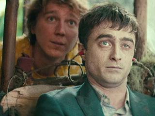 FROM EW: Paul Dano Befriends Daniel Radcliffe's Farting Corpse in Swiss Army Man Trailer