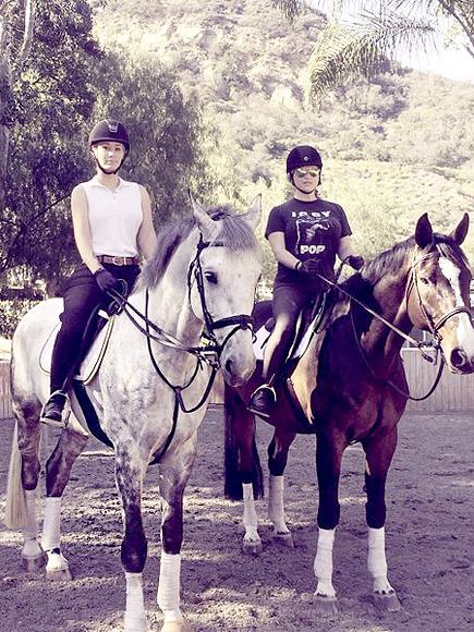 Kesha After Judge Dismisses Claims: Star Goes Horseback Riding with Iggy Azalea