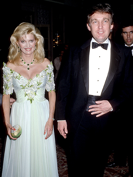 Trump And Donald Trump Wedding ivana trump speaks out about donald ...