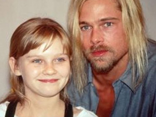 Flashback Friday: Kirsten Dunst Posts Mind-Blowing Throwback Pic Alongside Interview with the Vampire Costar Brad Pitt
