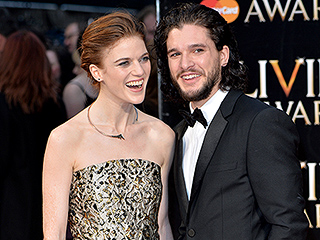 It's True! Game of Thrones' Kit Harington and Rose Leslie Go Public with Their Romance on the Red Carpet