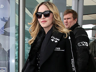 Madonna Back in London Amid Ongoing Custody Battle Over Son Rocco