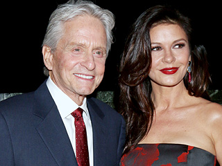 Michael Douglas Talks Family Vacation With Catherine Zeta-Jones, Makes Kids Squirm With Proposal Story