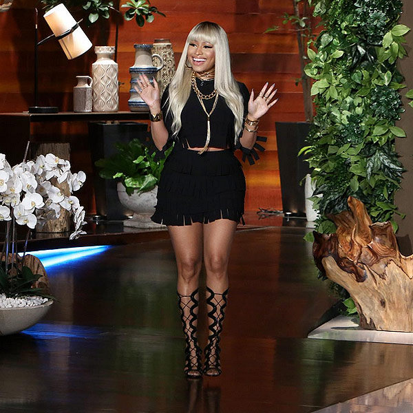 Nicki Minaj Talks Engagement Rumors and Keeping Relationship with Meek Mill Private: 'You Know What? I'm Single'  Couples, Engagements, The Ellen DeGeneres Show, Ellen DeGeneres, Nicki Minaj