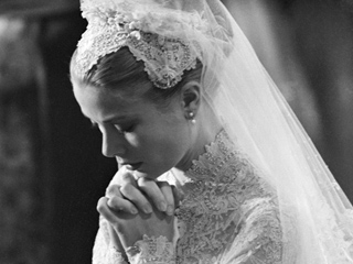 Why Princess Grace's Spectacular Wedding Tiara Wasn't Really a Tiara