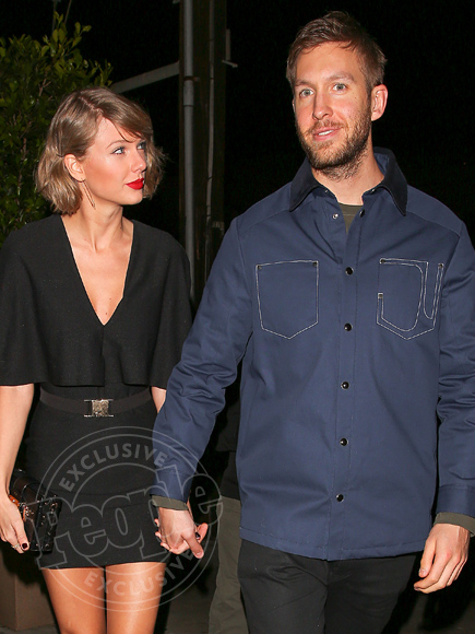 calvin harris and taylor swift started dating a guy