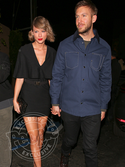 Taylor Swift and Calvin Harris Hold Hands on Romantic Date After She Thanks Him in Heartfelt Speech| Couples, Calvin Harris, Taylor Swift