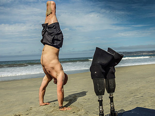 Double Amputee Veteran Says Yoga Saved His Life: 'I Realized I Was Supposed to Lose My Legs'