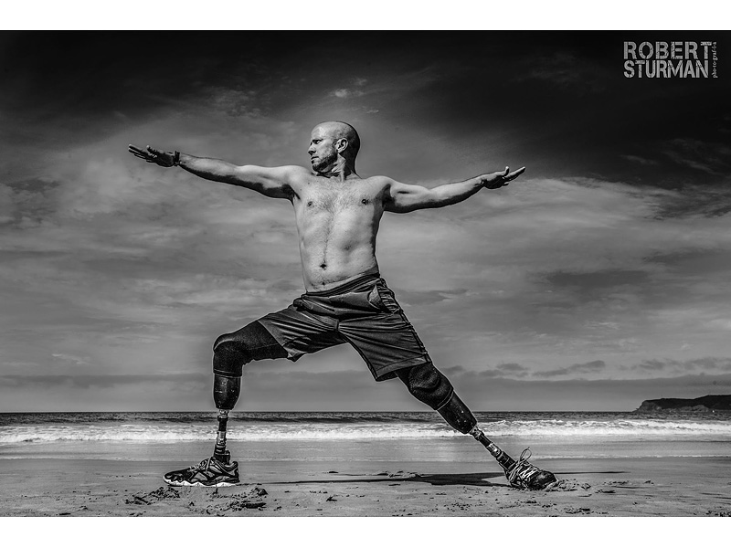 Double Amputee Veteran Says Yoga Saved His Life: 'I Realized I Was Supposed to Lose My Legs'| Fitness, Fitness & Health Fads, War, Bodywatch