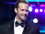 Tarzan Star Alexander Skarsgard Strips Down to His Skivvies (but Keeps His Tux Top!) at MTV Movie Awards