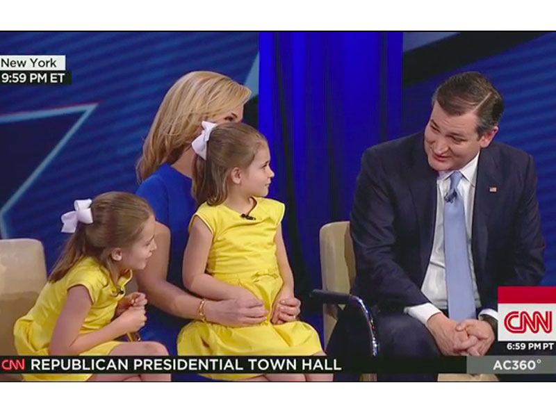 Ted Cruz Town Hall: Family Wants Taylor Swift as White House Dinner Guest
