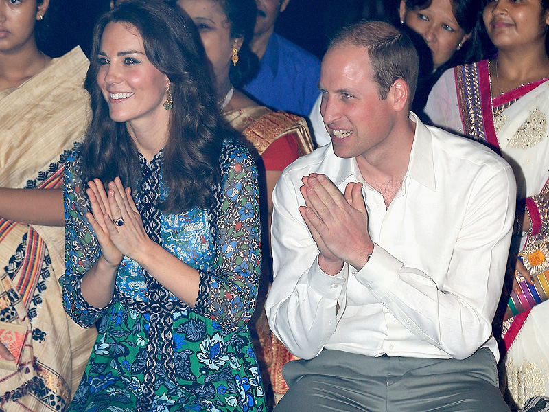 Princess Kate and Prince William Glow at Campfire Evening