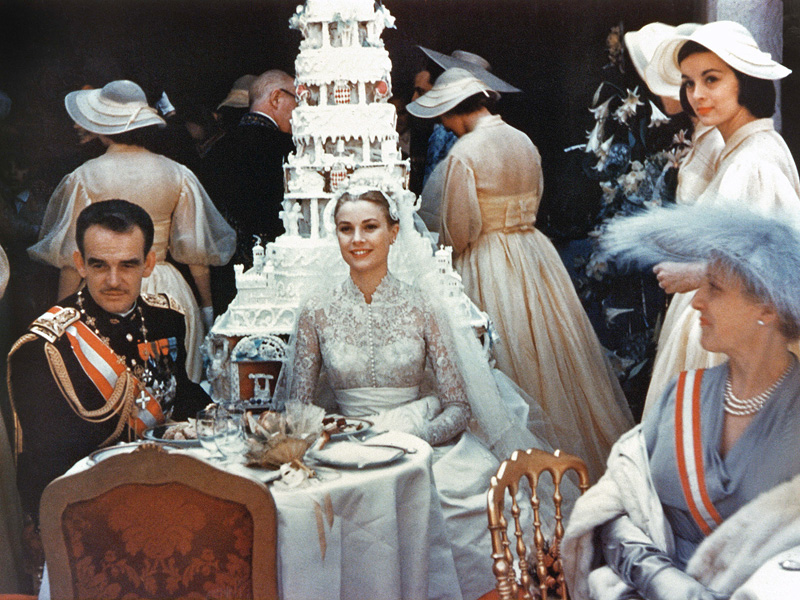 See Private Family Photos of the Most Glamorous Wedding in History: Grace Kelly's Marriage to Prince Rainier| The Royals, Grace Kelly, Prince Rainier