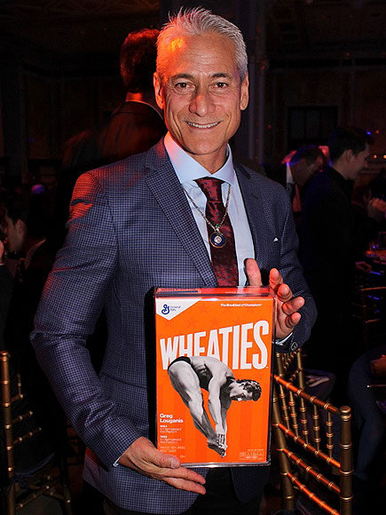 Greg Louganis Makes Wheaties Box Debut