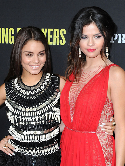 Spring breakers Selena Gomez and Vanessa Hudgens Party South Beach