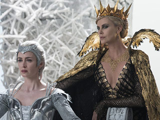 Charlize Theron's Son Was Infatuated With Emily Blunt While Filming The Huntsman: 'I Didn't Even Exist'
