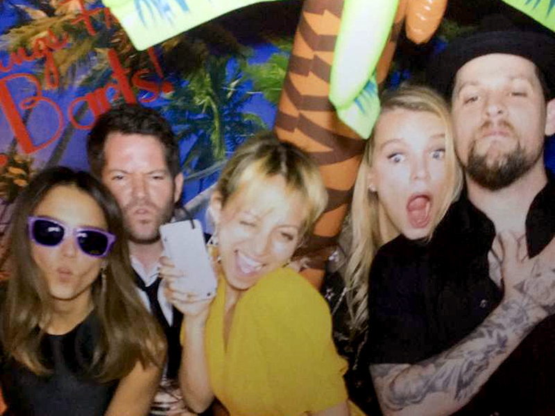 Katy Perry, Jessica Alba and Kate Hudson Party the Night Away in Aspen During Star-Studded Wedding| Cash Warren, Jessica Alba, Joel Madden, Kate Hudson, Katy Perry, Nicole Richie, Oliver Hudson