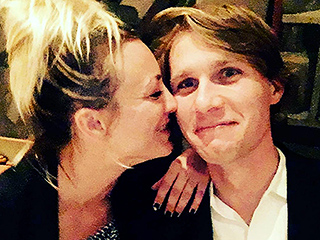 Kaley Cuoco Posts Cuddly Photo with 25-Year-Old Equestrian Karl Cook: 'This Is What Happy Looks Like'