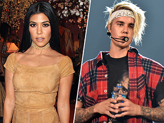 Kourtney Kardashian and Justin Bieber Have Been 'Hooking up on and off for a Few Months': Source