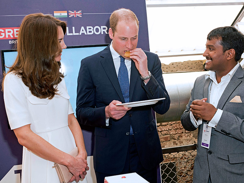 Royal Visit to India: Princess Kate Declines Prince William's Tasty Dosa