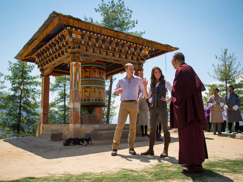 Royals Don't Sweat! William and Kate Breeze Through a 5-Hour, High-Altitude Hike in the Himalayas  The British Royals, The Royals, Kate Middleton, Prince William
