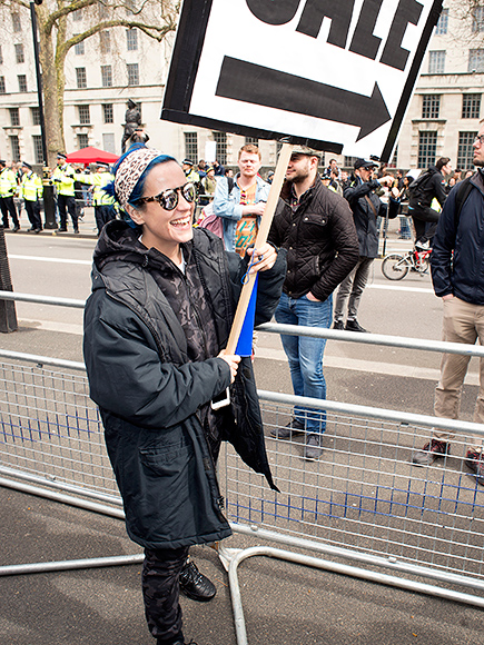 Lily Allen Joins Protest Against U.K. Prime Minister David Cameron Following the Release of the Panama Papers| Music News, David Cameron, Lily Allen