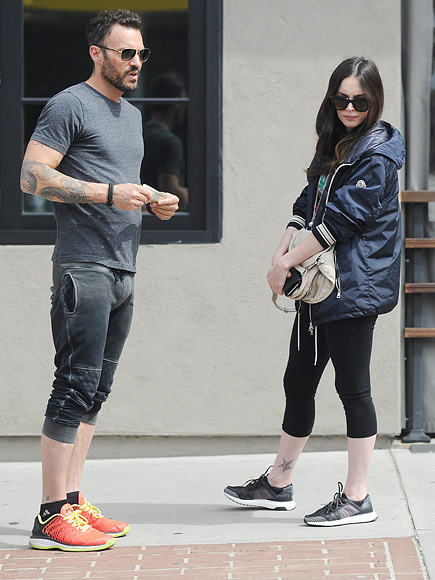 Megan Fox on Motherhood – and How She's Stayed Close to Ex Brian Austin Green  Breakups, Couples, Pregnancy, Hollywood Divorces, People Scoop, Brian Austin Green, Megan Fox