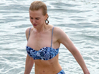 She's an Aussie Girl! Nicole Kidman Hits the Beach Down Under