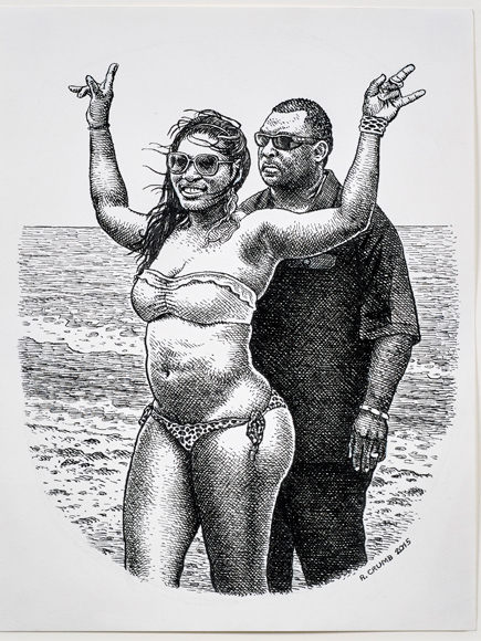 Celebs in Comic Form! See Artist R.Crumb Transform Coco Austin, Lady Gaga and More