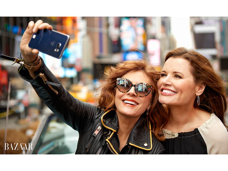 Susan Sarandon and Gina Davis Talk Thelma & Louise for 25th Anniversary