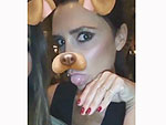Snapchat Fail! Victoria Beckham Unsuccessfully Tries to Use the App's Puppy Filter: 'Why Doesn't My Tongue Work?'