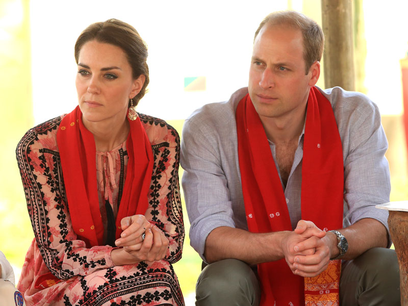 Find Out the Special Meaning Behind the Scarves Prince William and Princess Kate Have Worn in India| The British Royals, The Royals, Kate Middleton, Prince William