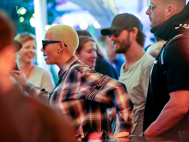 Scott Disick and Amber Rose Meet Up at VIP Bar in Coachella While the Kardashians Head to Iceland| The Coachella Music and Arts Festival, Amber Rose, Scott Disick